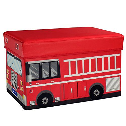 Fire Truck Storage Box and Toy Organizer ** Find out more about the great product at the image link.