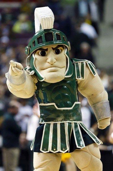 michigan state university mascot michigan state