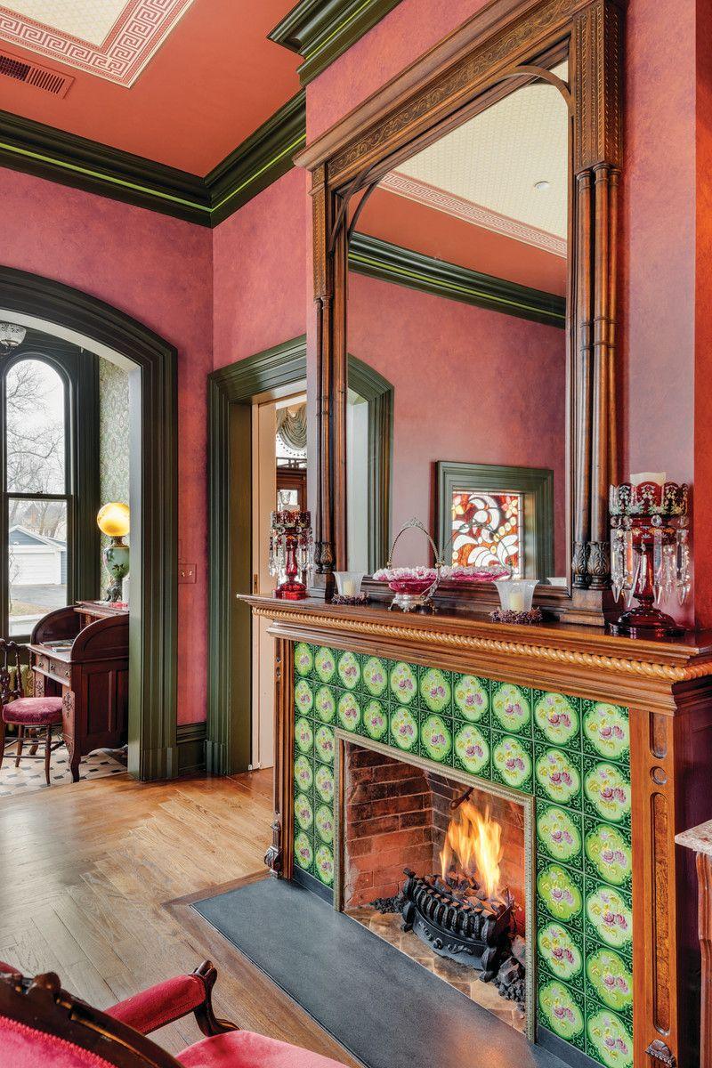 Saving A Landmark Victorian I Hearth Fireplaces Pinterest