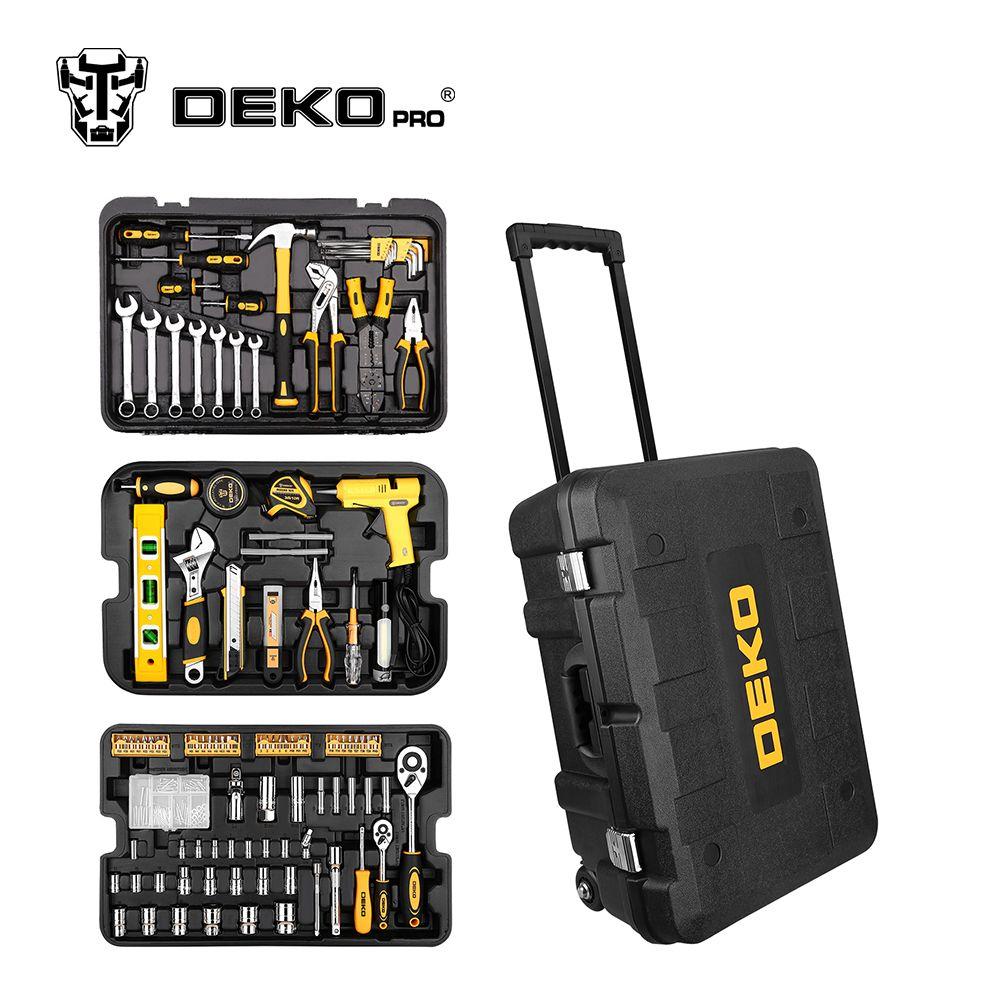 Comprar Dekopro 255 Pcs Conjunto De Ferramentas Com Caixa De
