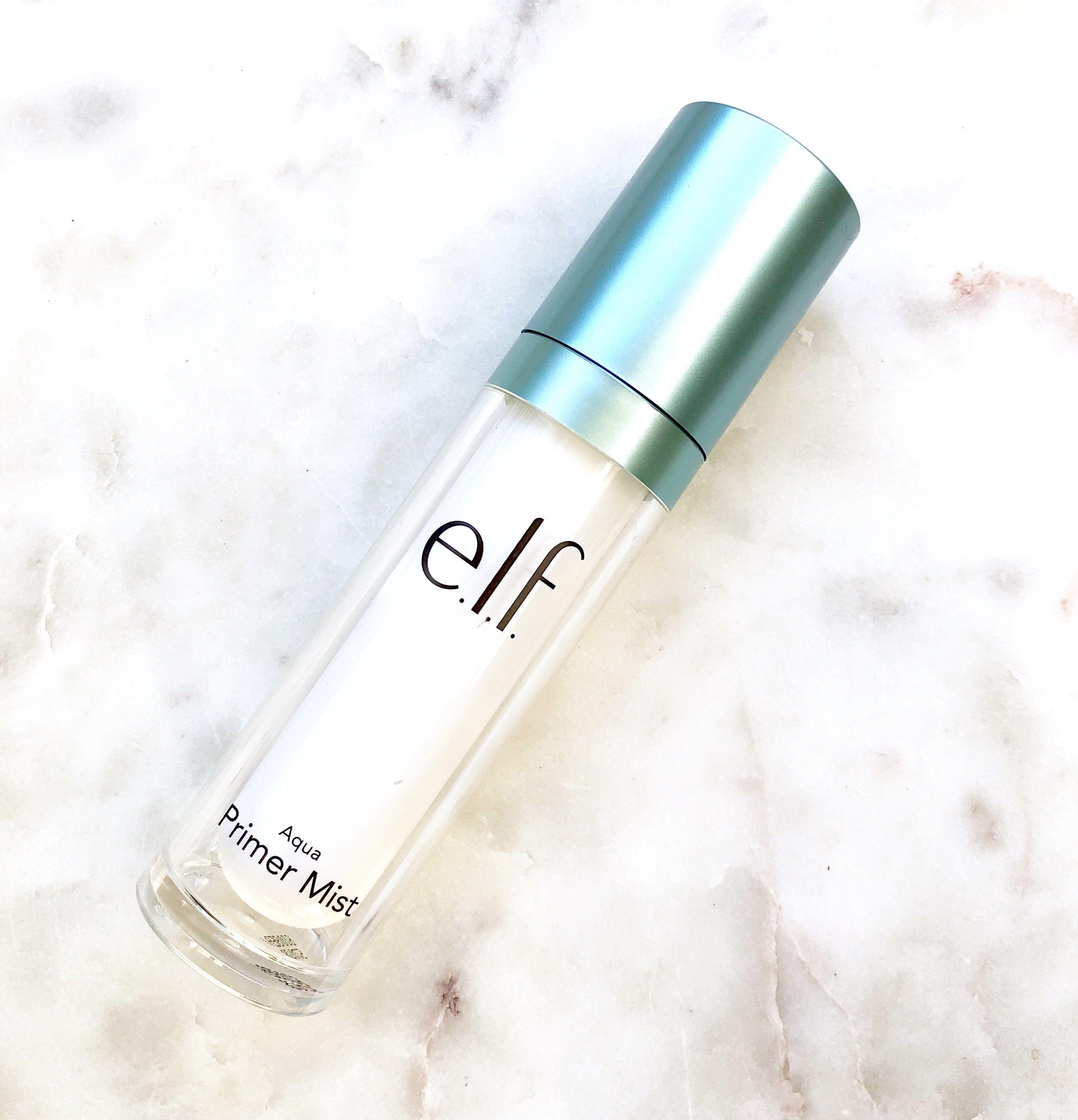 E.L.F. Aqua Primer Mist Review Elf setting spray, Elf