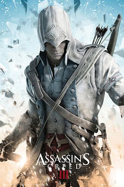 Póster Assassin's Creed III. Connor | Assassins creed