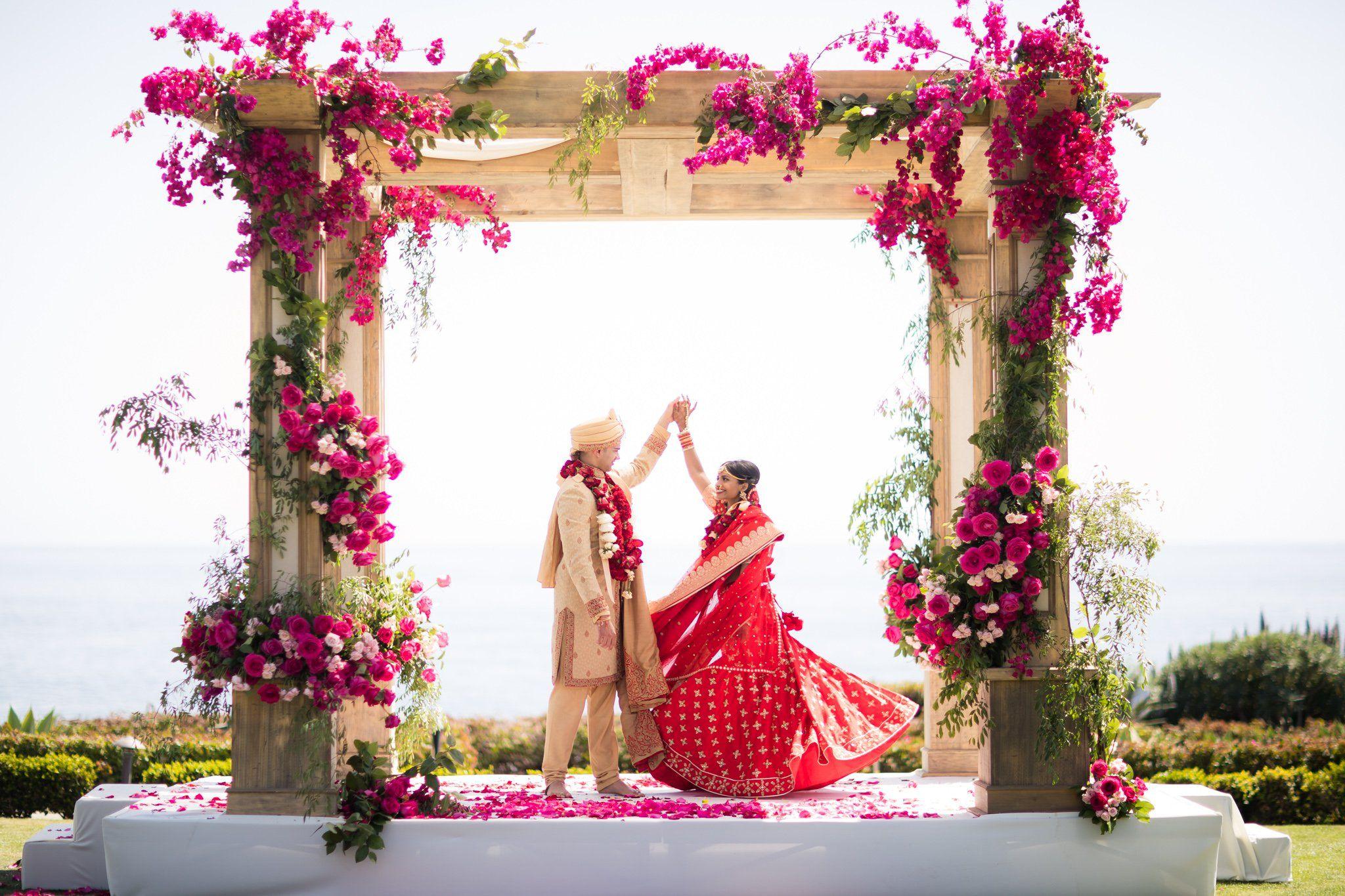 Colorful Indian Wedding Theme Illustration - Wedding Idea 2018 ...