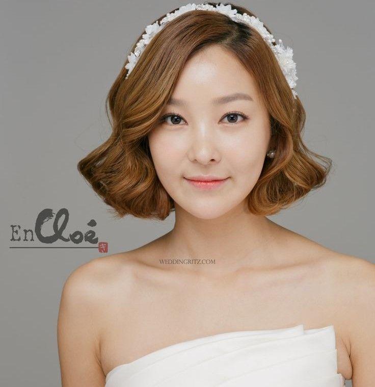 korean bridal hairstyle tutorial