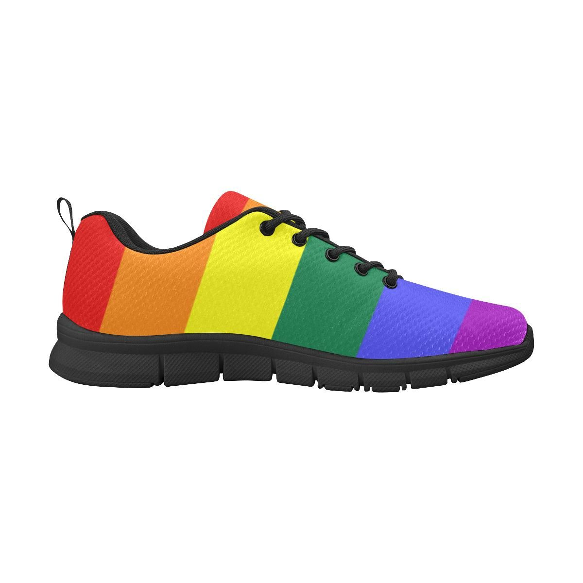 Canvas High Top Sneaker Casual Skate Shoe Mens Womens Asexual Pride Flag