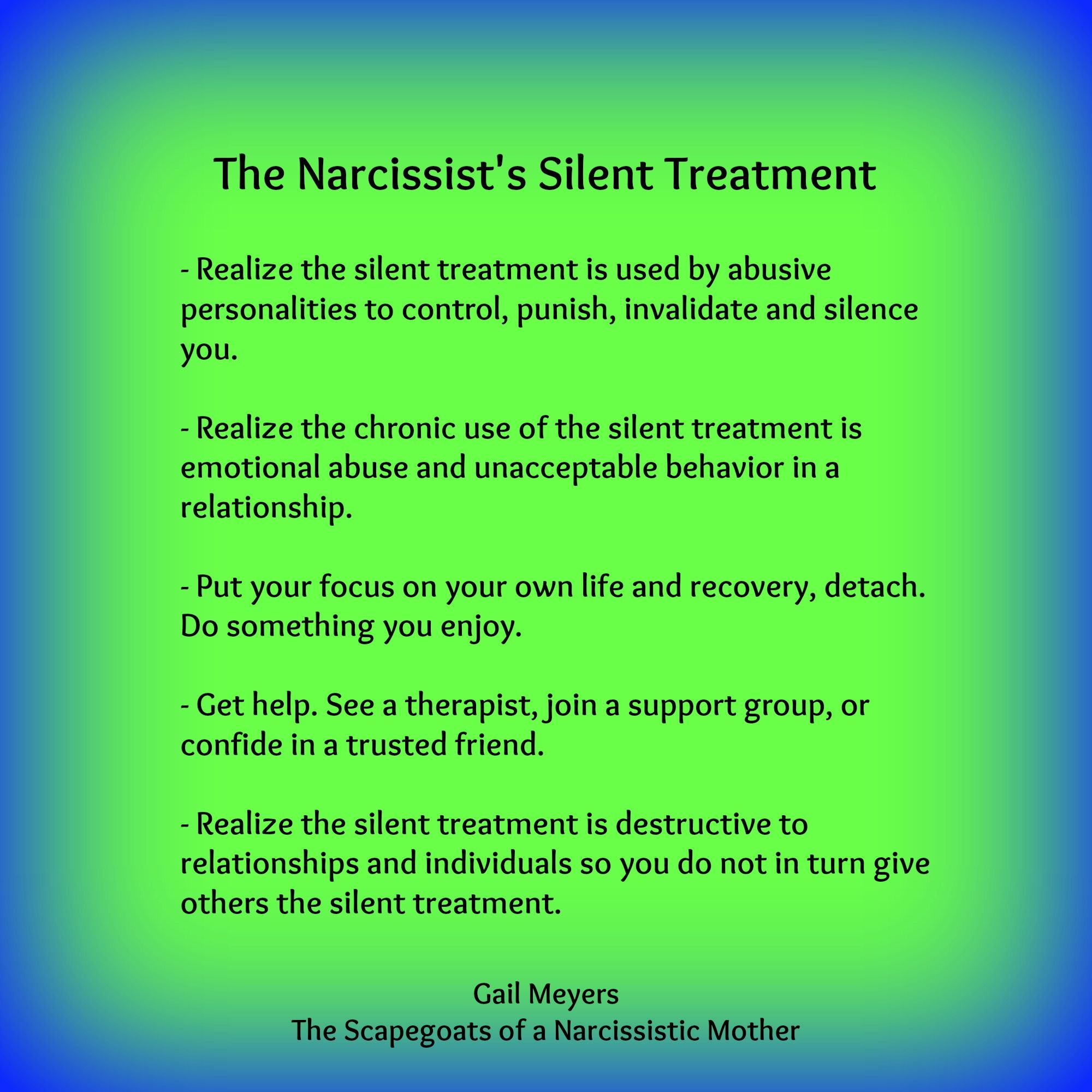 Is the silent treatment emotional abuse