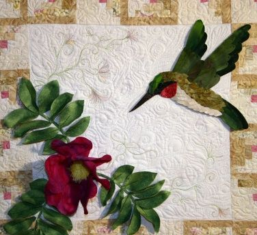 Petal Play Quilt Patterns Kits Templates Books Appli-Bond ... : hummingbird quilts - Adamdwight.com