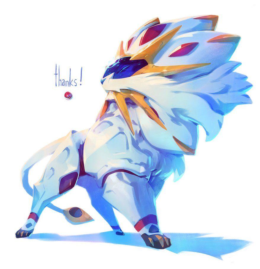 Pokemon Sun - Solgaleo by nicholaskole  Pokémon  Fotos de