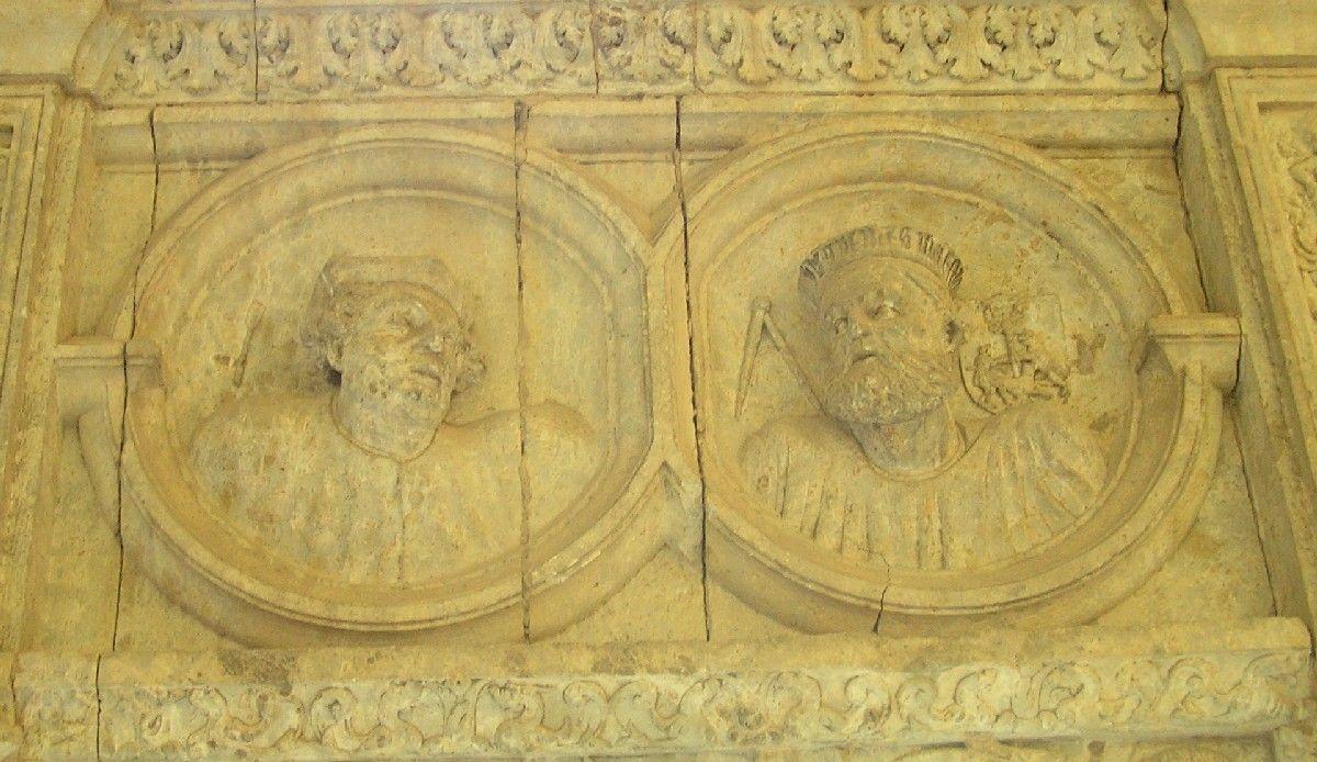 Detalle del Claustro de la Catedral Santa María (Ciudad Rodrigo) -