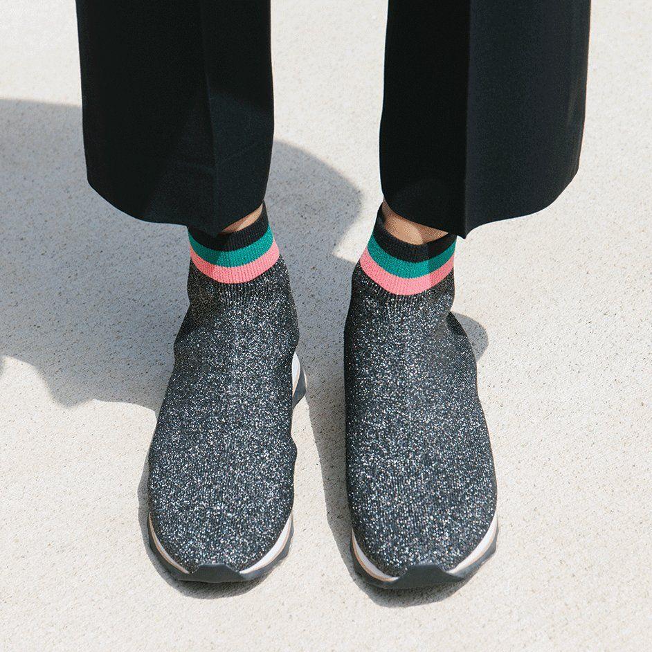 Loeffler Randall Scout Knit Sneaker