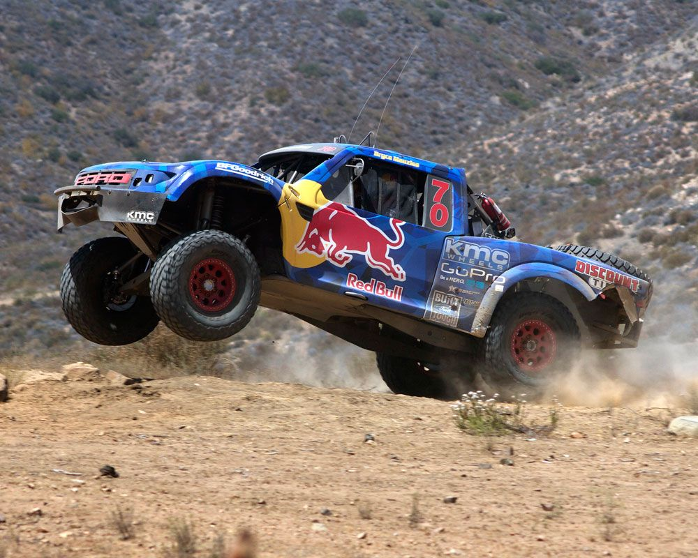 Menzies Motosports Conquer Baja In The Red Bull Trophy Truck