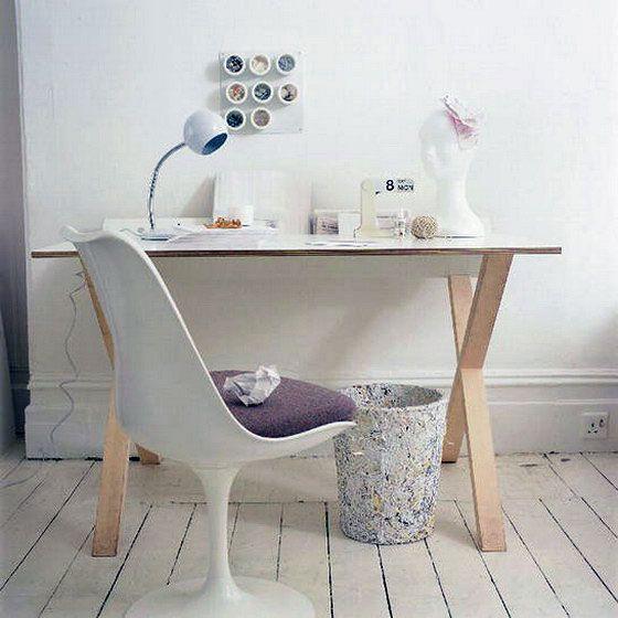 Vintage Tulip Chair in Study Desk sloan Pinterest Tulip chair