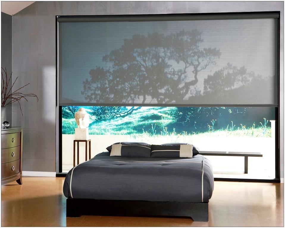 Image Result For Electric Shades And Blinds For Large Windows Blinds For Windows Living Room Blinds Sliding Door Blinds