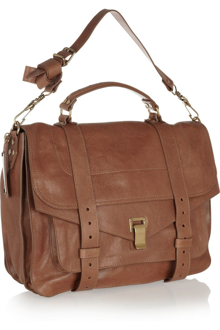 Proenza Schouler The Large Leather Satchel