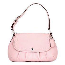 Women's Soho Blush Leather Flap: Blush Flap
