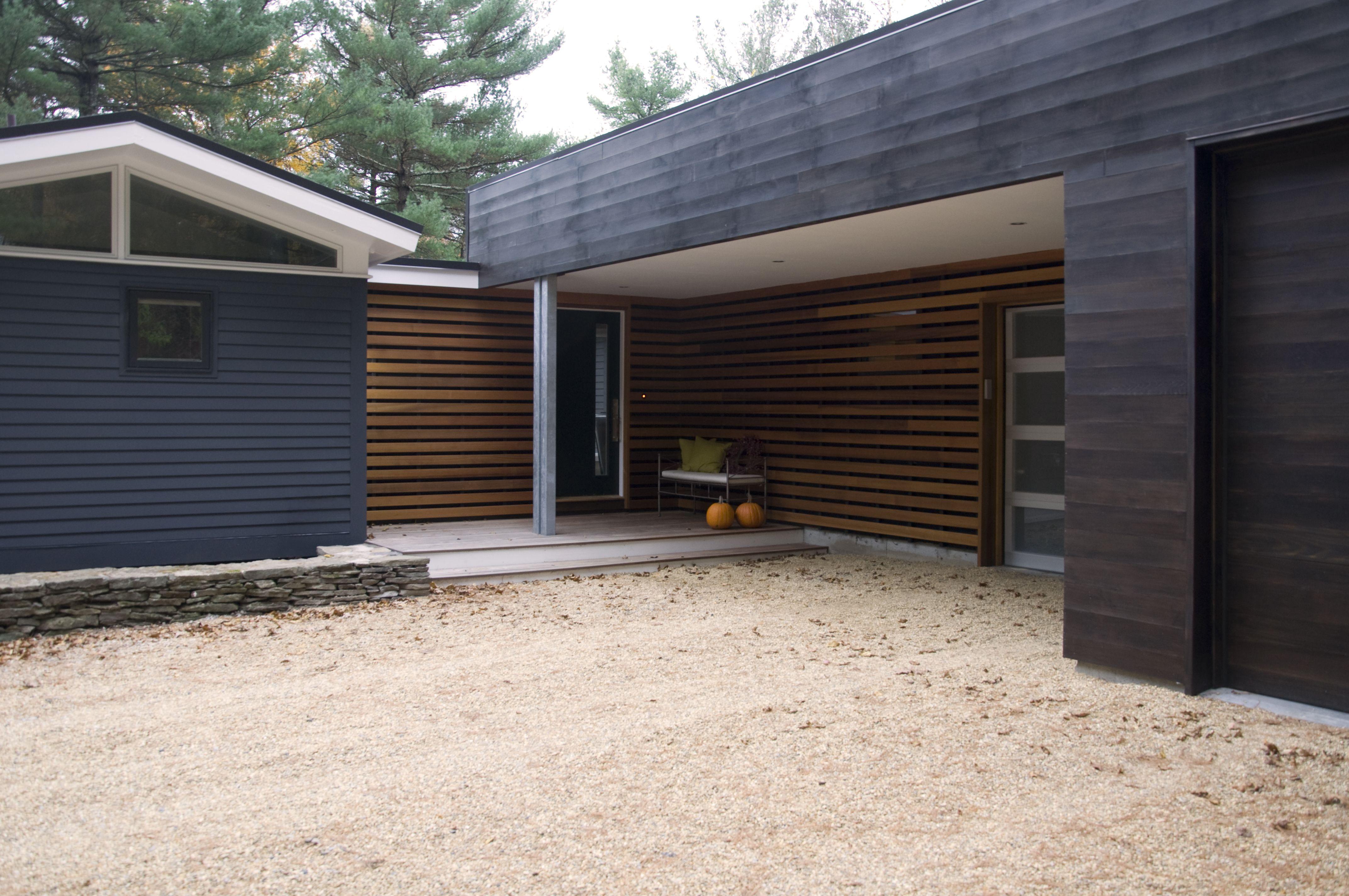 Best Midcentury Cedar Wood Siding Mid Century Modern House 400 x 300