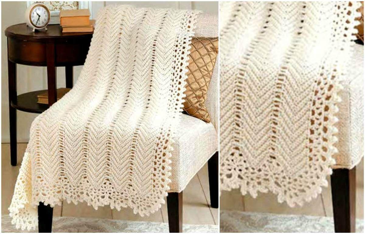 Adorable Crochet Blanket | Chal y Patrones