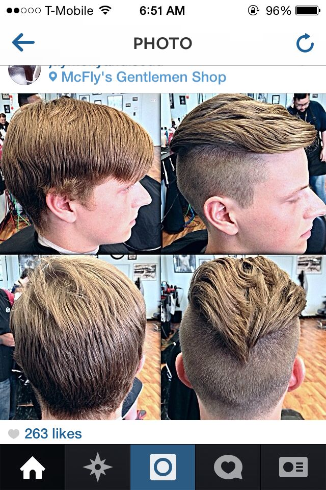 Freshly Undercut Hair Before And After Mens Hair Pinterest