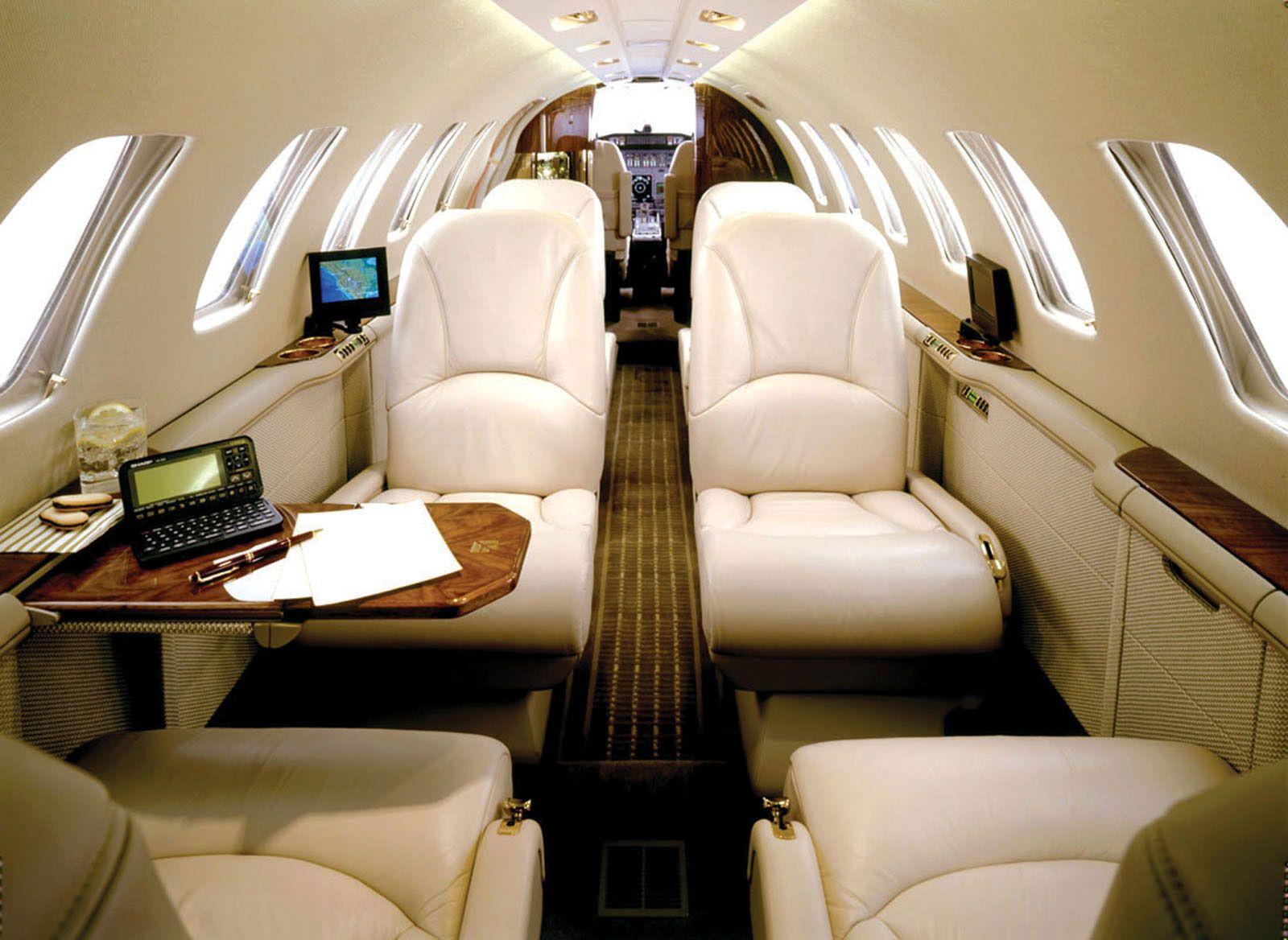 British airways' private jet service Private jet interior