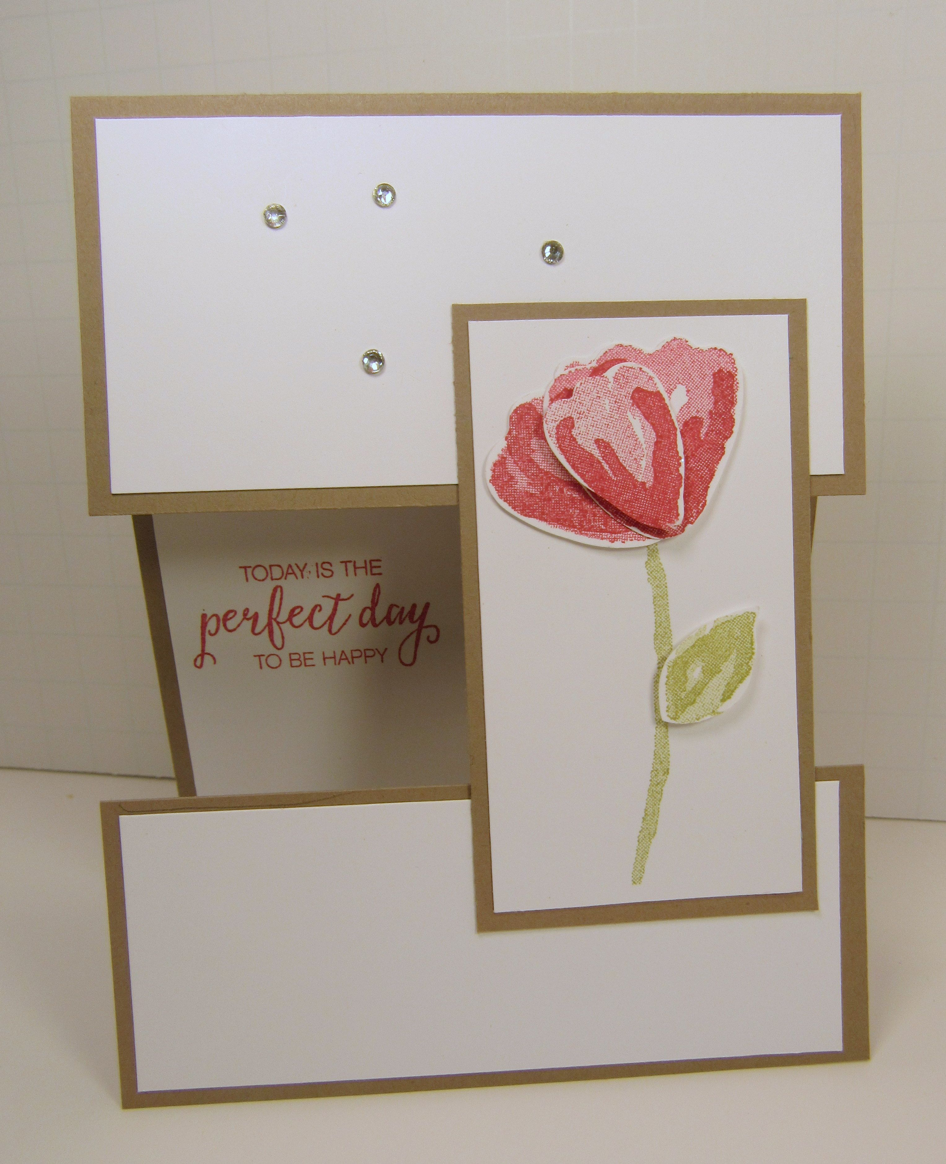 Card Making Ideas And Instructions Part - 48: Bunch Of Blossoms Illusion Card By OnROwn - Cards And Paper Crafts At  Splitcoaststampers