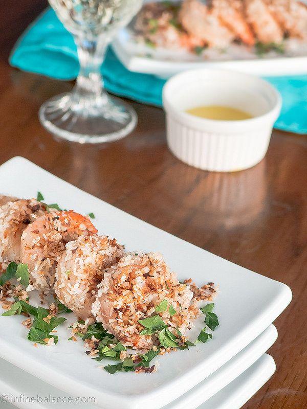 Coconut Jerk Shrimp #jerkshrimp
