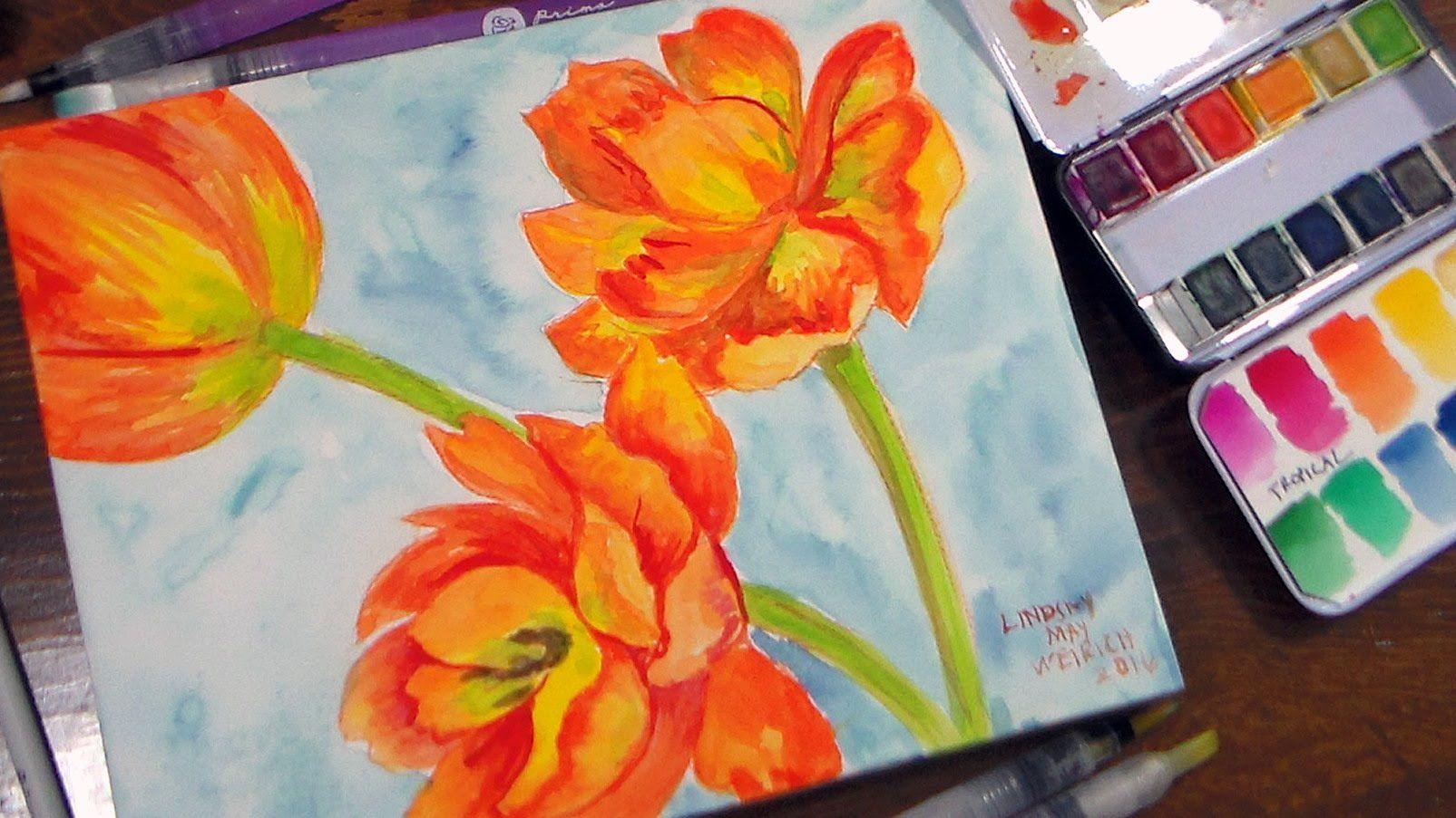 PRIMA Watercolors//Coloring Book//Waterbrushes//Watecolor Panel ...