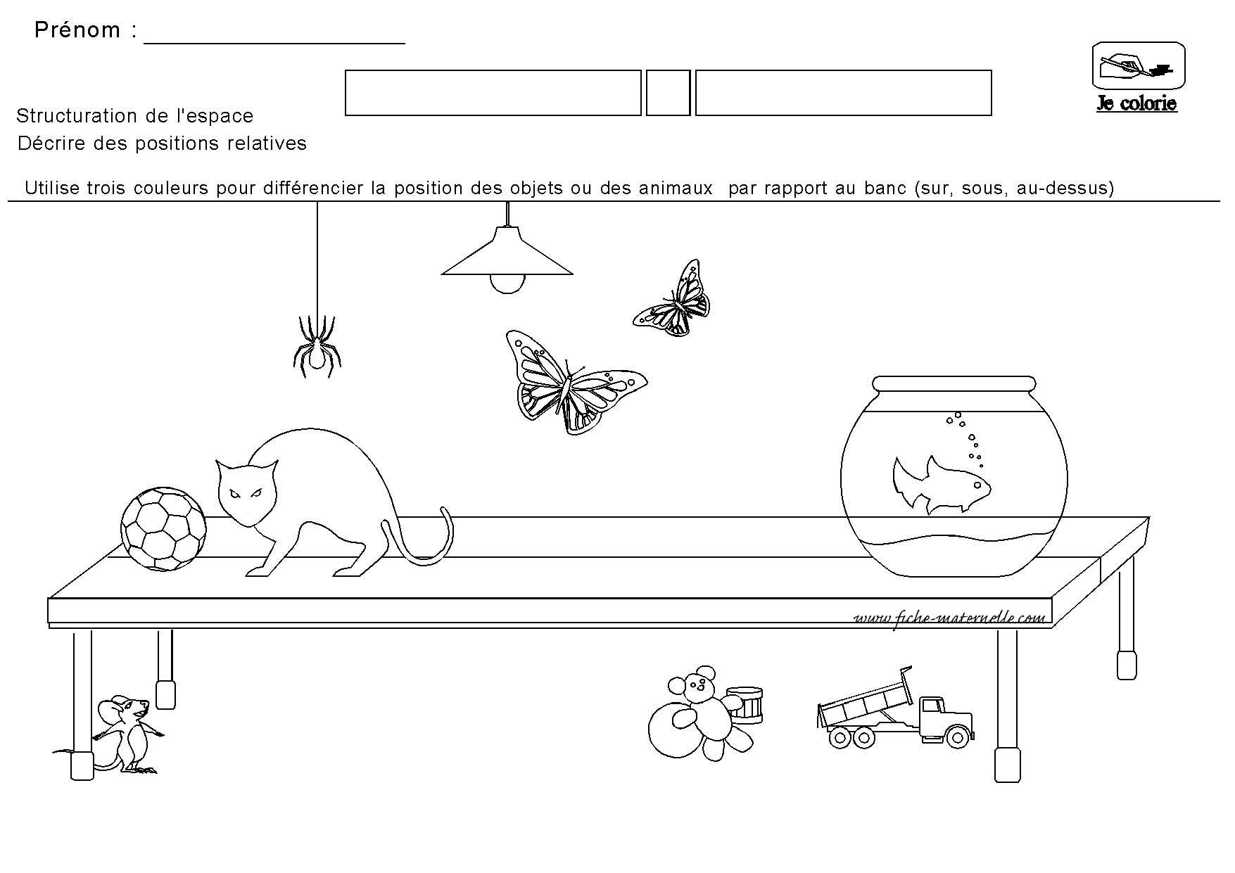 Structuration De L Espace En Maternelle