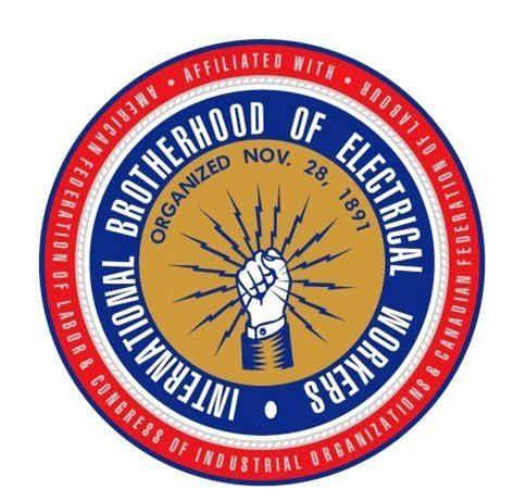 International Brotherhood Of Electrical Worker The International Brotherhood Of Electrical Workers Will Be Unv Electrical Workers Union Logo Electrician Logo