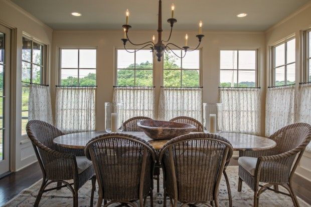Living Room. Blind Alley Casual Window Treatments Portfolio Cafe ...