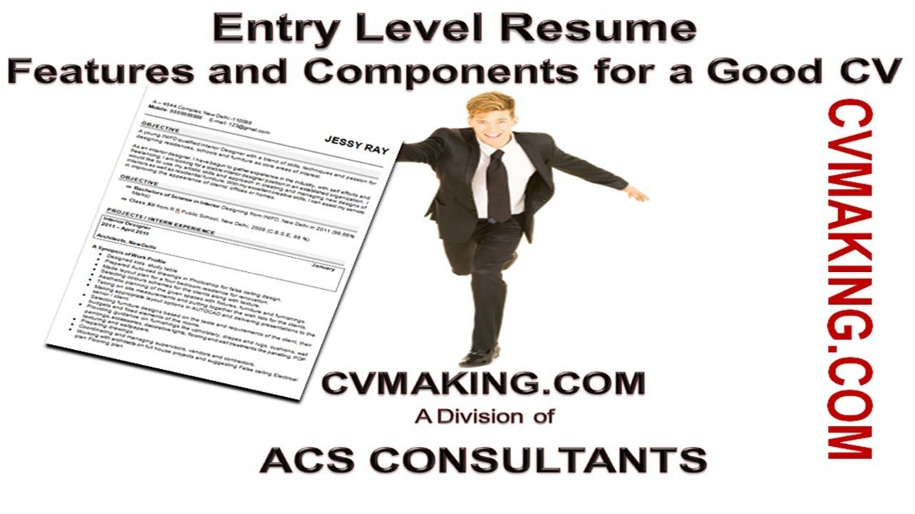 How to make a Good CV for Fresher / Less Experience Candidate | CV ...