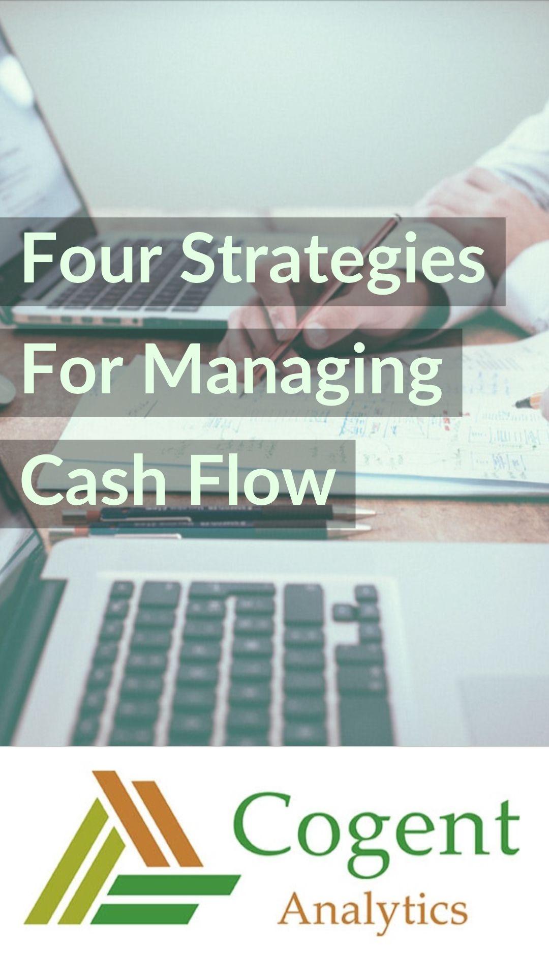 Four Strategies Of Cash Flow Management