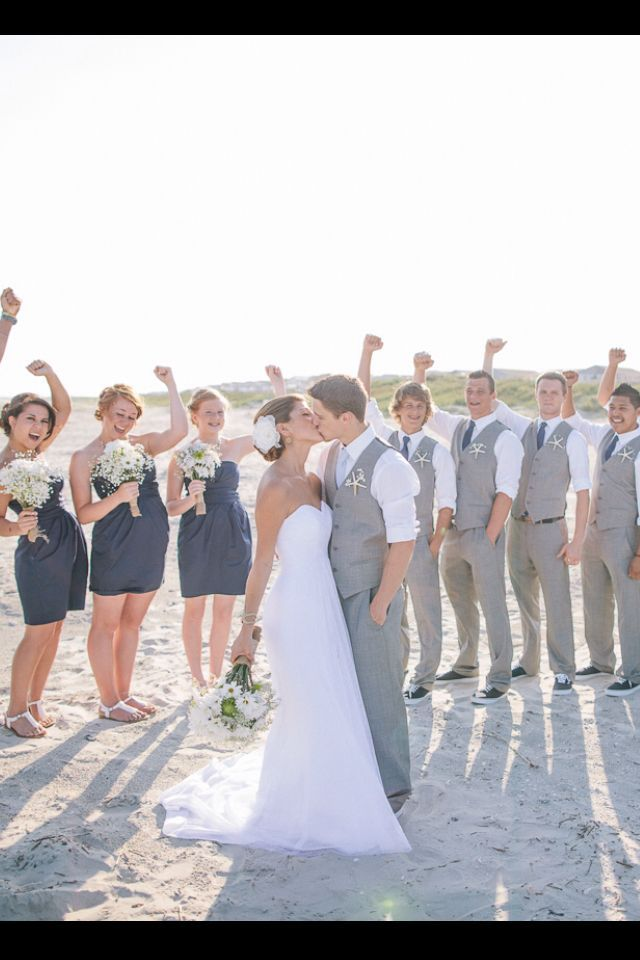 Beach Wedding Gray Suit - Google Search