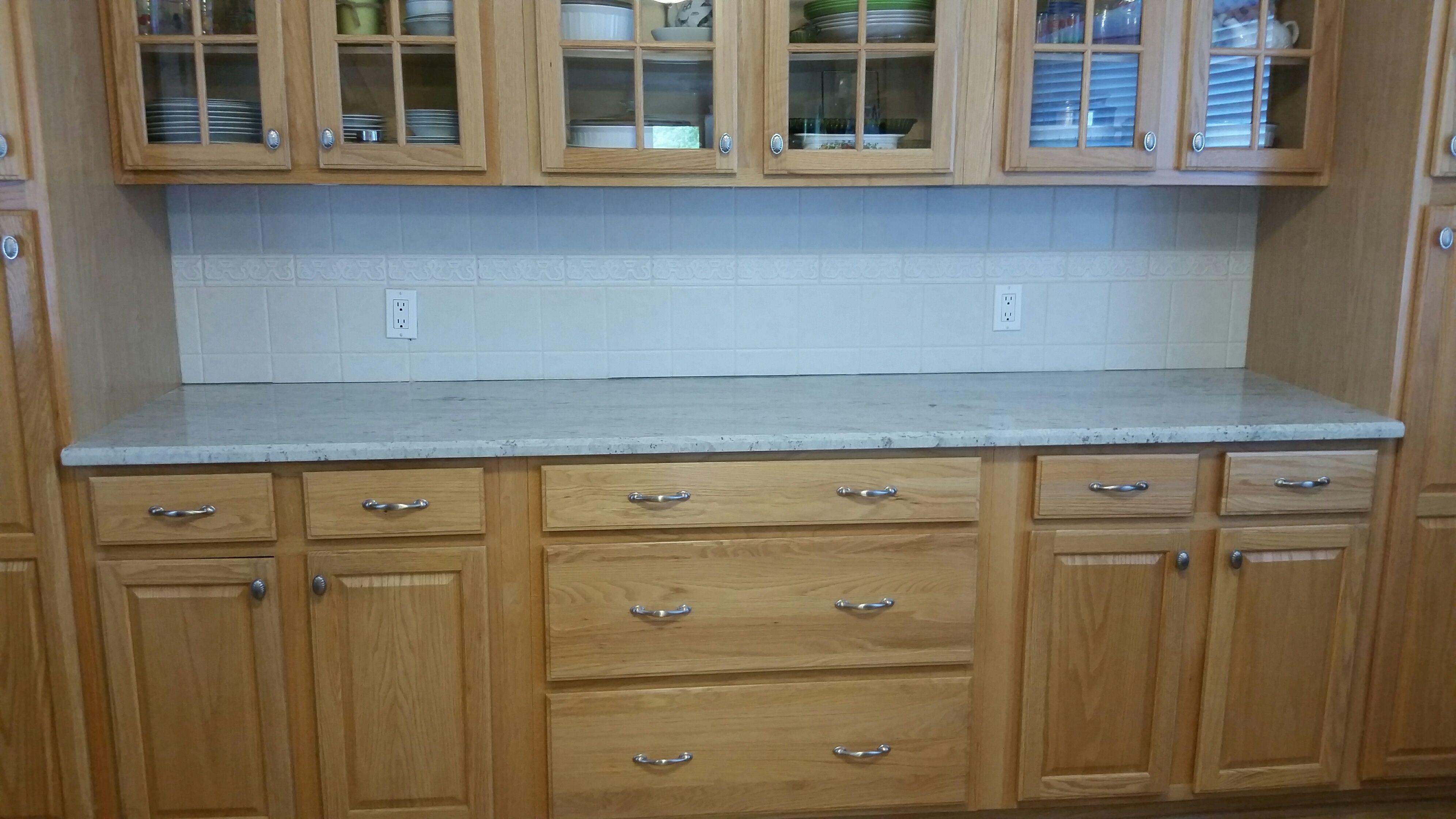 River White granite kitchen countertop install. Knoxville\'s Stone ...