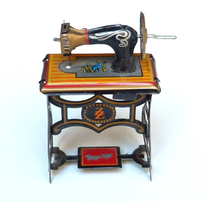 tin toy sewing machine