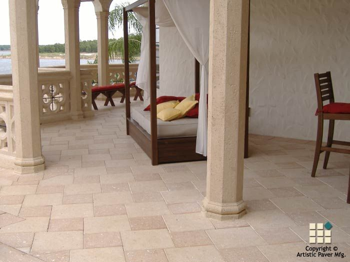 Create an outdoor space fit for royalty using Artistic Paver Mfg.! #paver #pavers #paverpatio #patiopavers #outdoorliving #outdoorlivingspace #paverpatiodesigns #patiodesigns #paverideas #homeimprovement #artisticpavers www.artisticpavers.com