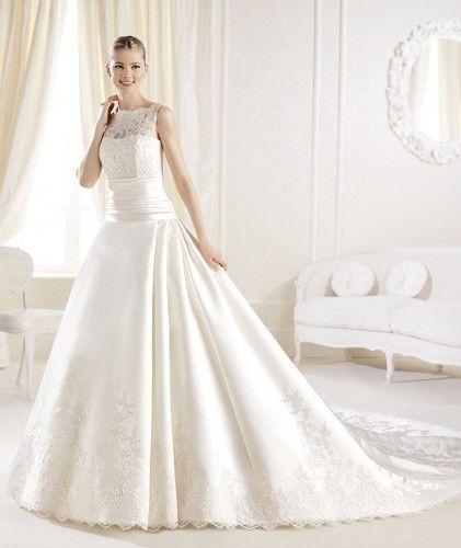 Coleção #Noivas La Sposa 2014 modelo IOLA #casarcomgosto