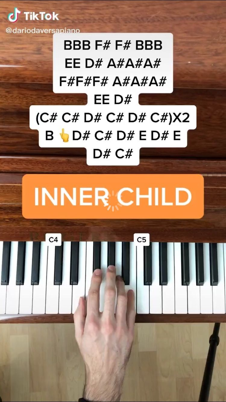 Bts V Inner Child Easy Piano Songs Piano Songs Piano Notes Songs
