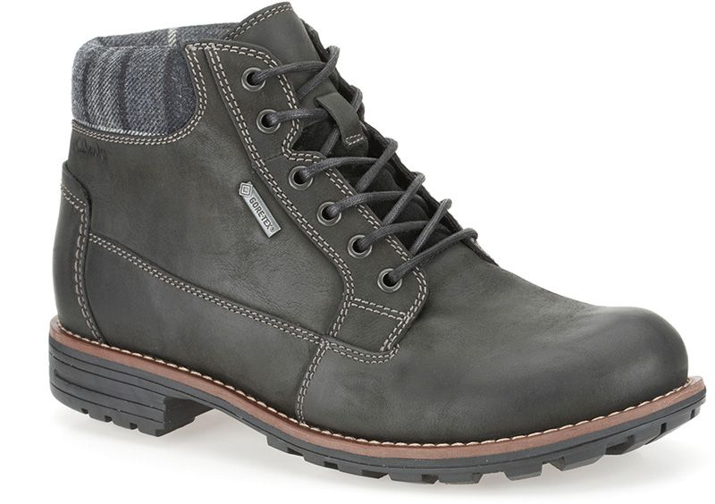 Clarks in GTX GTX Black Midford 2019Boots Leather Top reCoEdQxBW