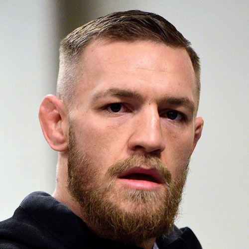 conor mcgregor haircut 2019 fade