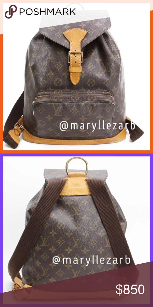 510123eb8dde AUTHENTIC LOUIS VUITTON MONTSOURIS BACKPACK GM COMING SOON !!!! Louis  Vuitton Bags Backpacks