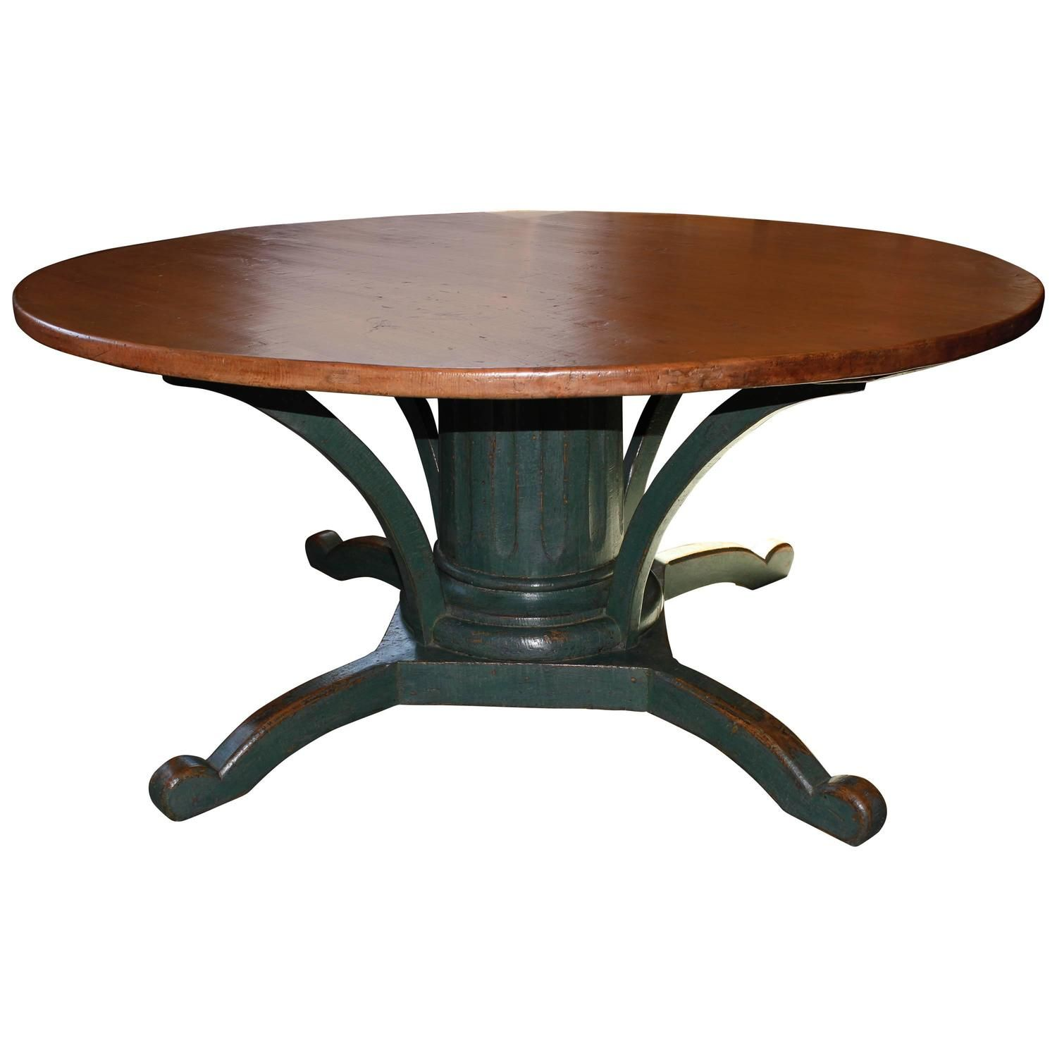 cortona round expand p table click to pedestal