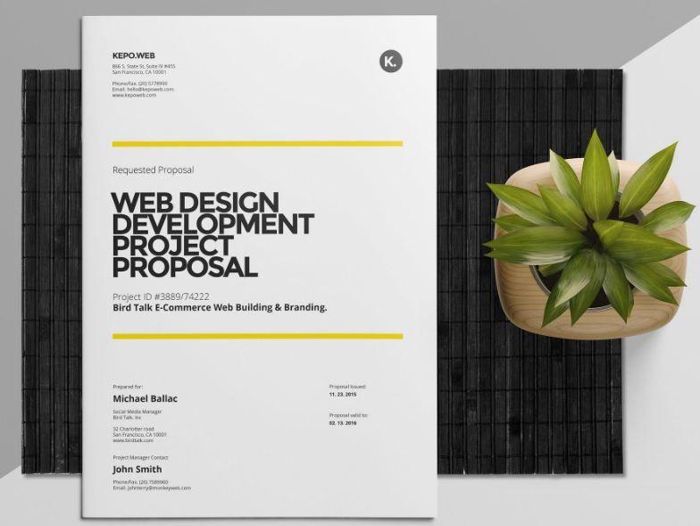 35 Business Proposal Template Word Docs Download Web Design
