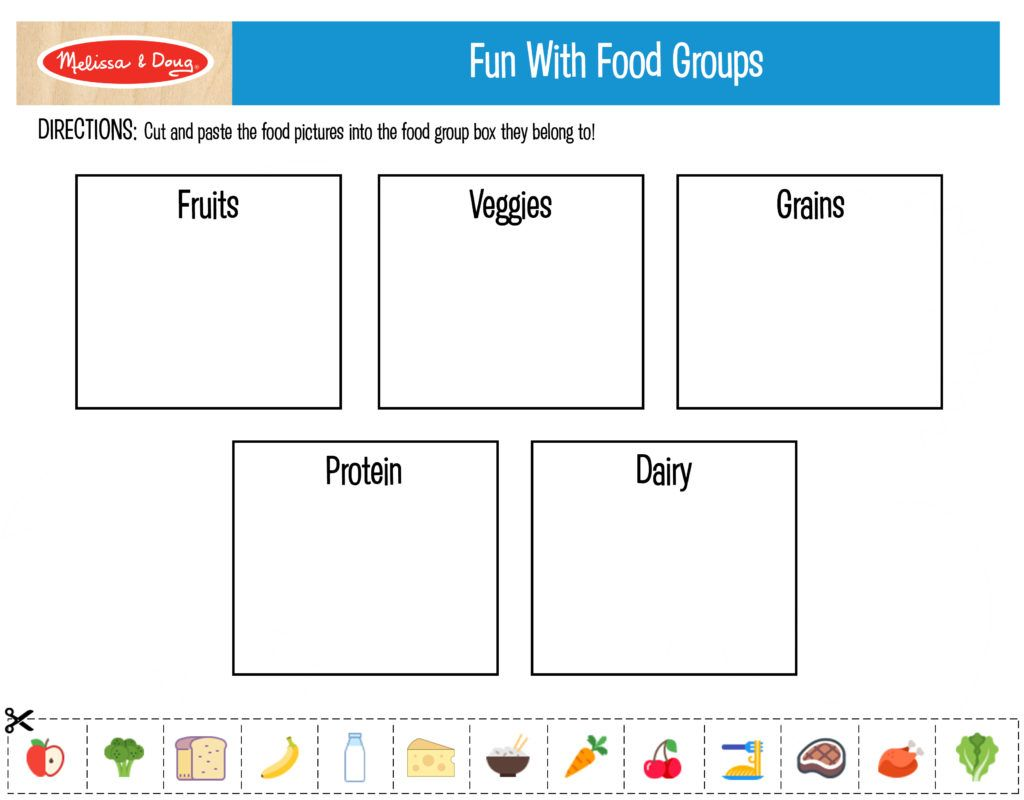 free printables for kids nutrition activities free printables