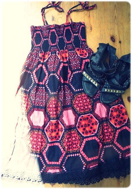 VillaNanna: Vanha mekko