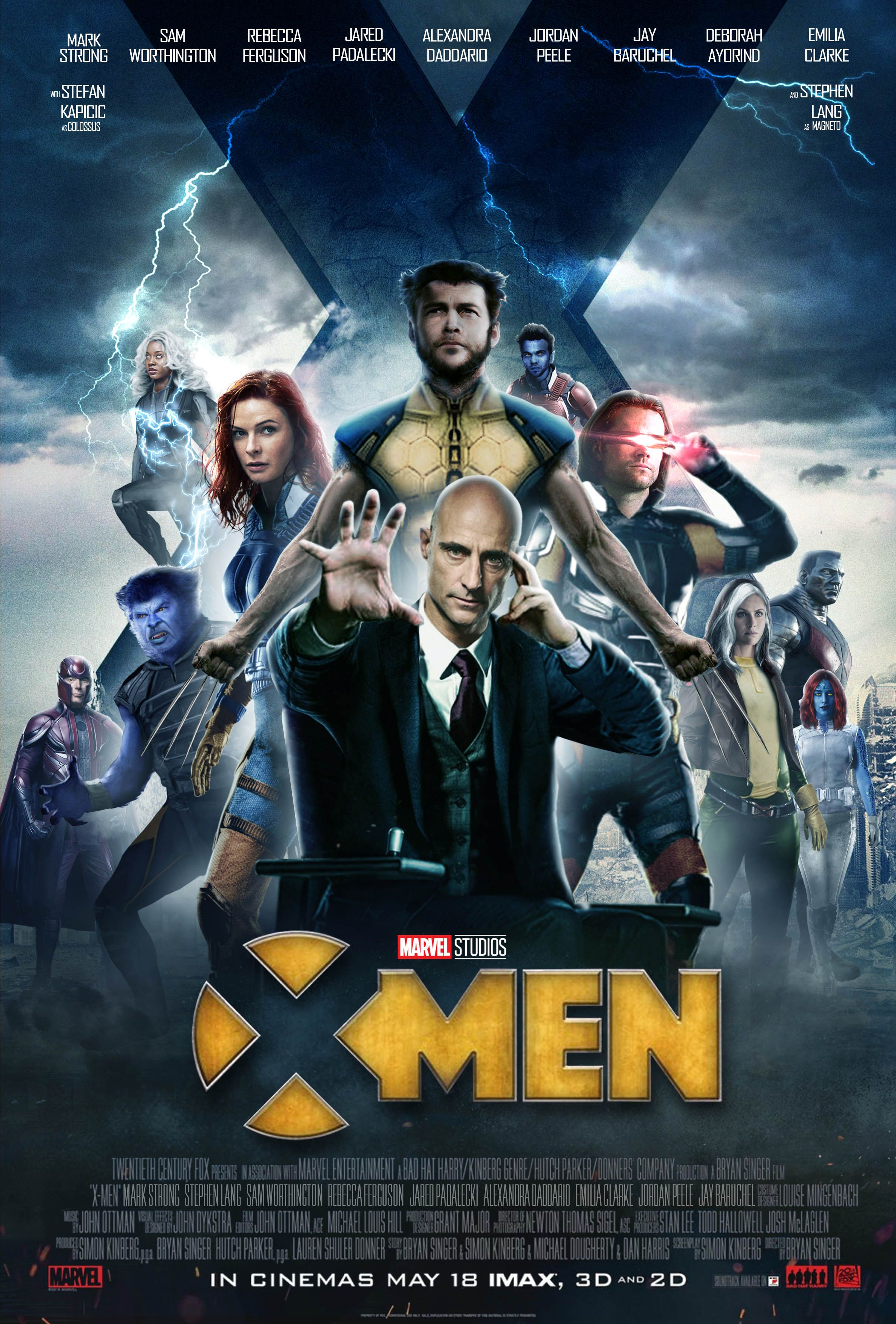 Mcu X Men Movie Poster Upcoming Marvel Movies X Men Marvel Cinematic