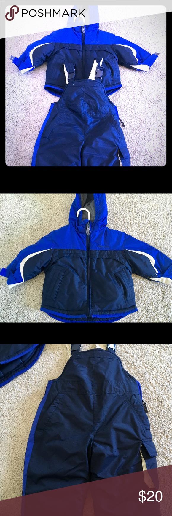 60ab618bd152 London Fog 12 Month Boys Coat snow suit Combo