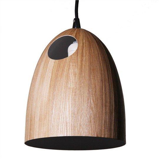 Rika wood textured metal pendant light light oak lighting rika wood textured metal pendant light light oak mozeypictures Choice Image
