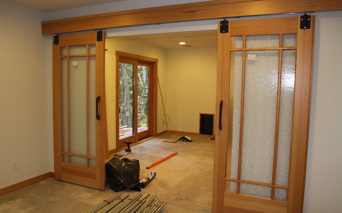 Home Decor Sliding Doors: Craftsman Style Barn Doors
