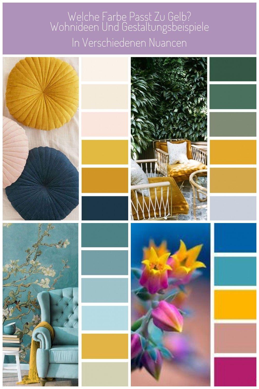 Welche Farbe Passt Zu Gelb Wohnideen Und Gestaltungsbeispiele In Verschiedenen Nuancen Braun Grau Belem Wohnung Schon Welche Farbe Gelb Farbkombinationen