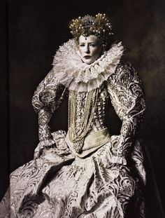 Costume by Alexandra Byrne for Elizabeth The Golden Age